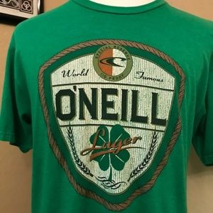 O'Neill Lager Beer Mens Size Large World Famous